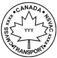 Canada Car Seat Safety Sticker